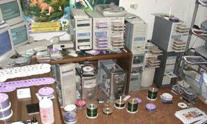 La habitación de un jugador de PC