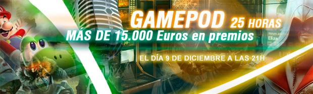 Gamepod y JuegosDB Programa de radio de 25H