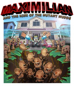 Teorica Portada de Maximillian and the Rise of the Mutant Mudds