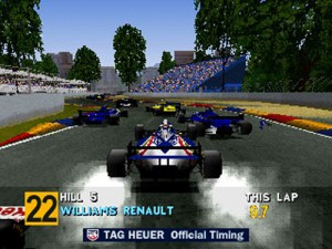 Captura de Formula 1 para Playstation