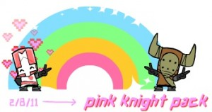 Pink Knight Pack para Castle Crashers