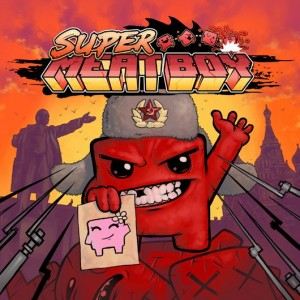 Portada Rusa de SuperMeat Boy