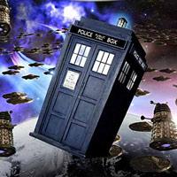 Doctor Who - La Tardis vuela rodeada de enemigos