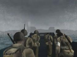 Momentos antes del desembarco en Medal of Honor