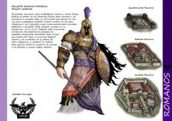 "Clash of the Gods, Muestra conceptual de ""Romanos"", Ingumak"