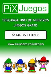 Premio para bajarte un juego gratis de PixJuegos