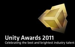 Logo de los premios Unity 11