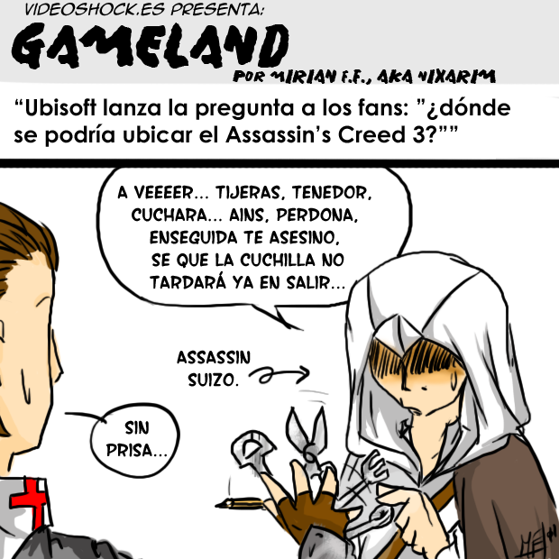 Ambiente para el próximo Assassins Creed 3
