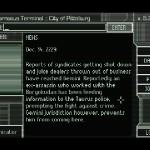 Gemini Rue - En los terminales de datos podemos leer información o buscar pistas