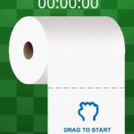 Captura de pantalla de Drag Toilet Paper para Android